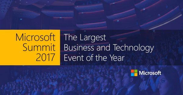 MS Summit 2017